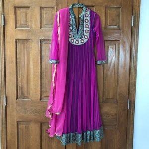 Dresses & Skirts - Designer Anarkali Suit